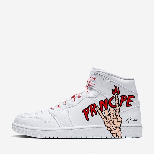 [PRINCIPE PRIVE] COLLABORATION AJ1 MID CUSTOM
