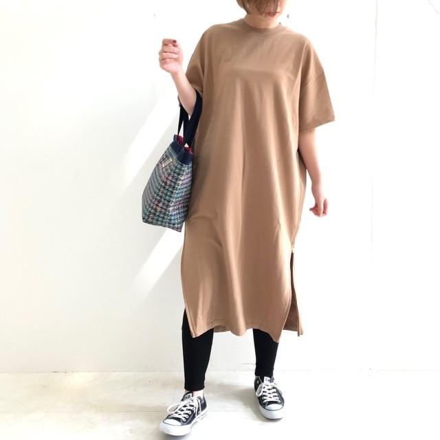 【 CHIGNONSTAR 】ミニ裏毛ワンピース