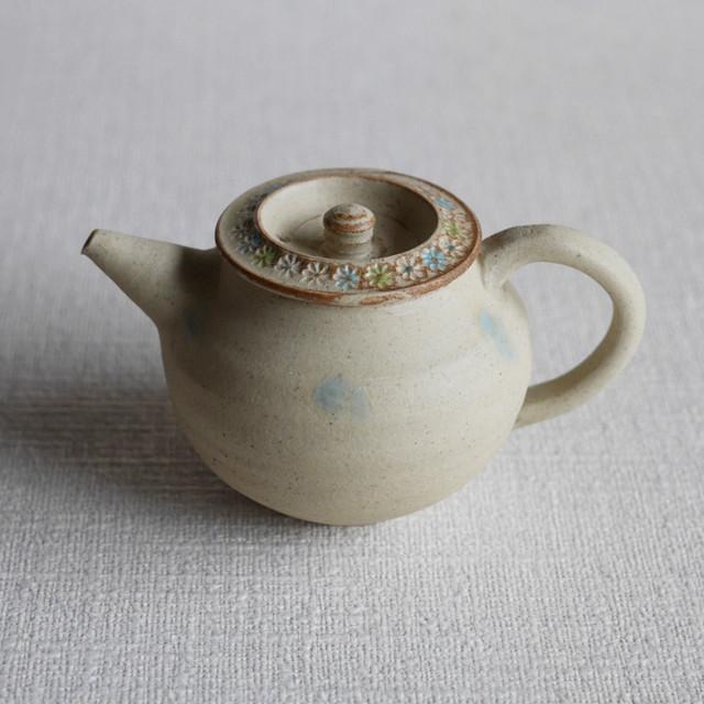 彩色印花茶器 < A >