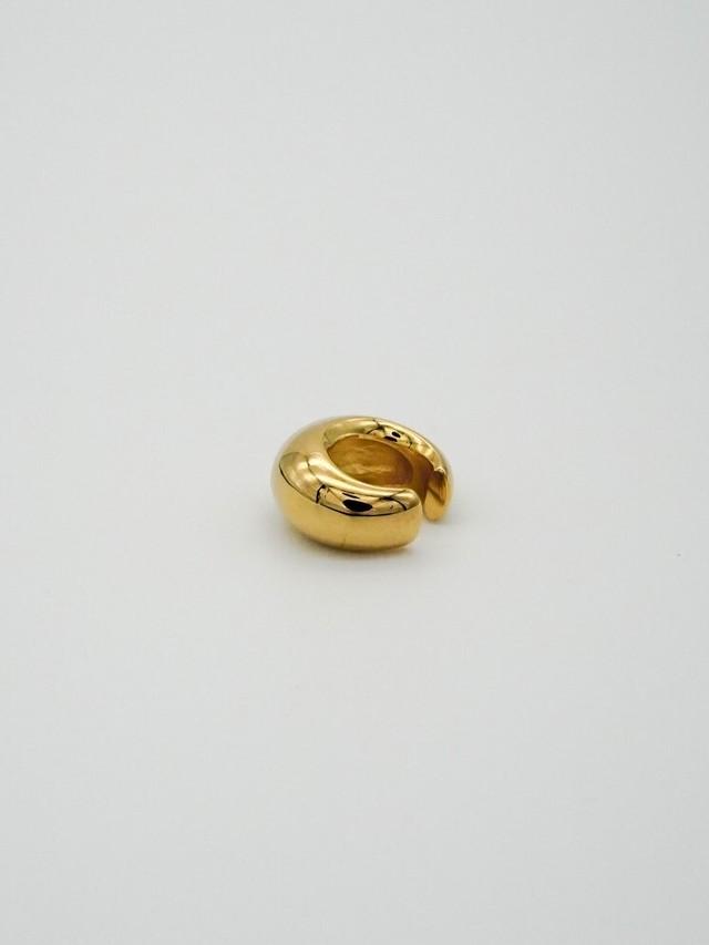 volume big earcuff gold(再入荷)