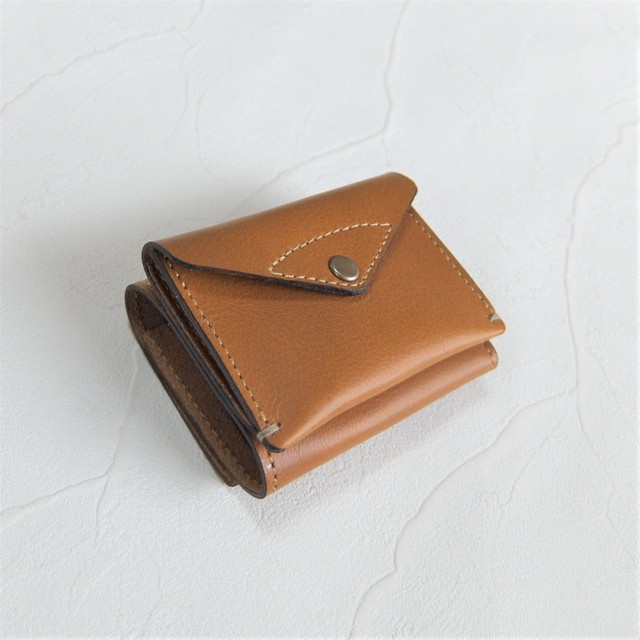 3つ折り財布 Gray  (在庫あり)