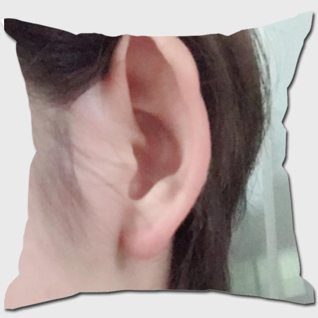 モデルまなみさんの耳クッション その2