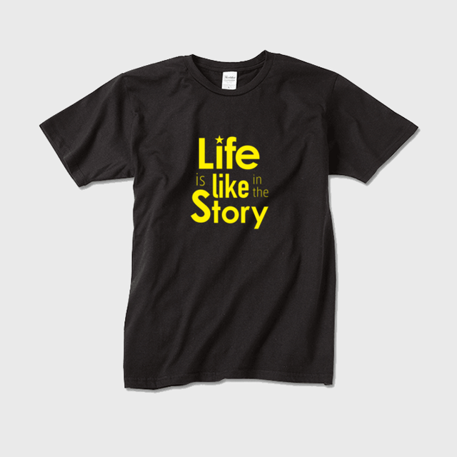Life is like in the story~人生は物語のようだ(黒×黄)~【メンズ】