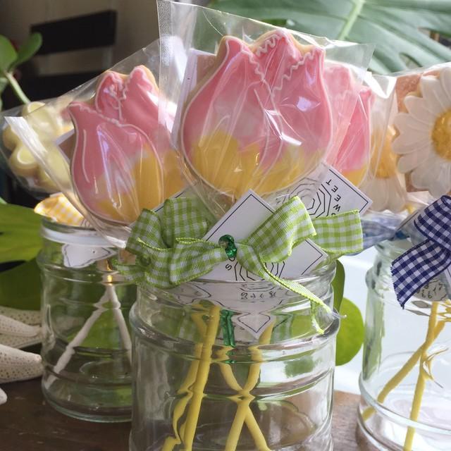 Frilly Tulip Pops (10本単位でご購入ください@648)