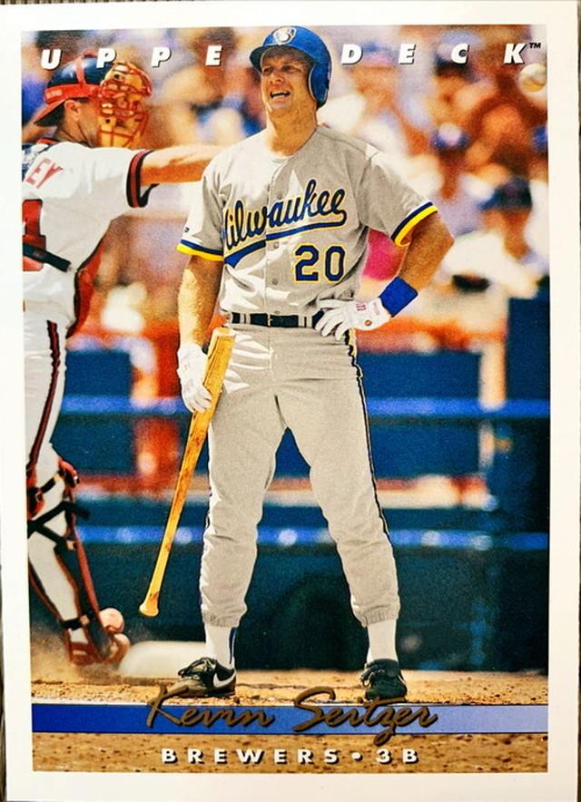 MLBカード 93UPPERDECK Kevin Seitzer #295 BREWERS