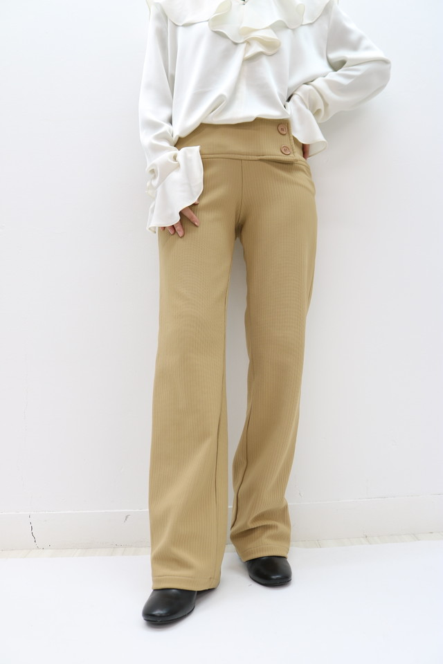 stripe flare pants / PT11160004