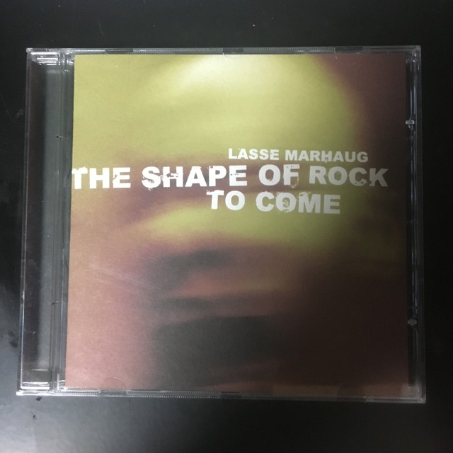 Lasse Marhaug ‎– The Shape Of Rock To Come(CD)USED