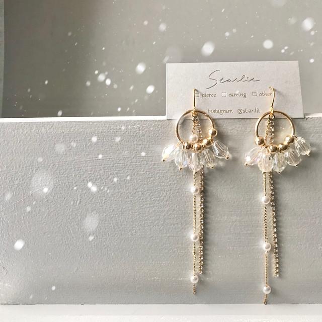 Angel pierce/earring