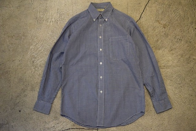 USED 90s L.L.Bean L/S Cotton Shirt -Small S0548