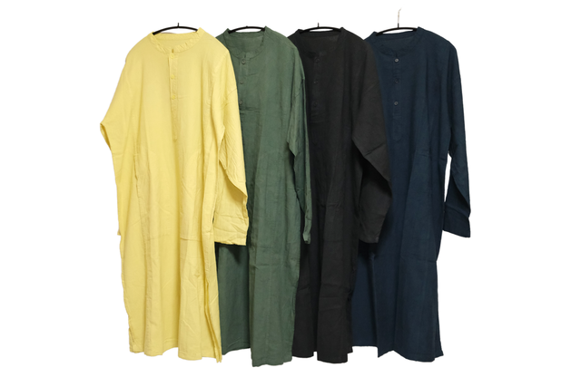【select】Button shirt  one-piece from TAIWAN(ボタンシャツワンピース)J-010