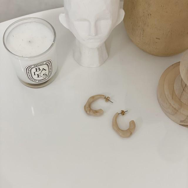plump marble pierce/ivory