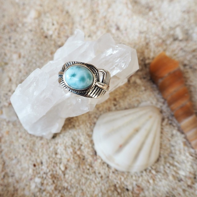 Larimar Heather Ring #4