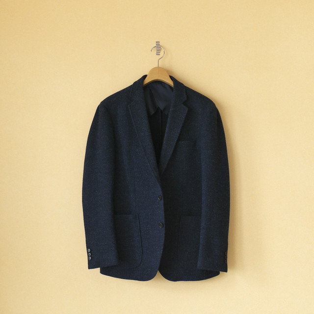 Arbre アルブル  wool herringbone 3B jacket【メンズ】【SALE・セール】