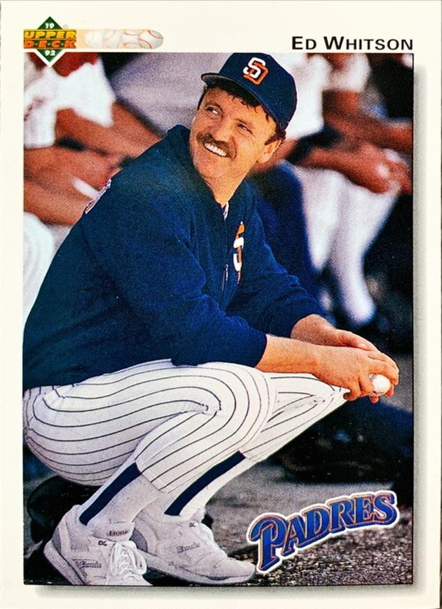 MLBカード 92UPPERDECK Ed Whitson #103 PADRES