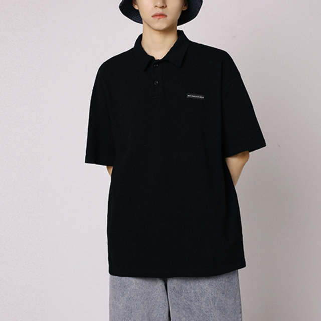 Front button polo T-shirt LD0632