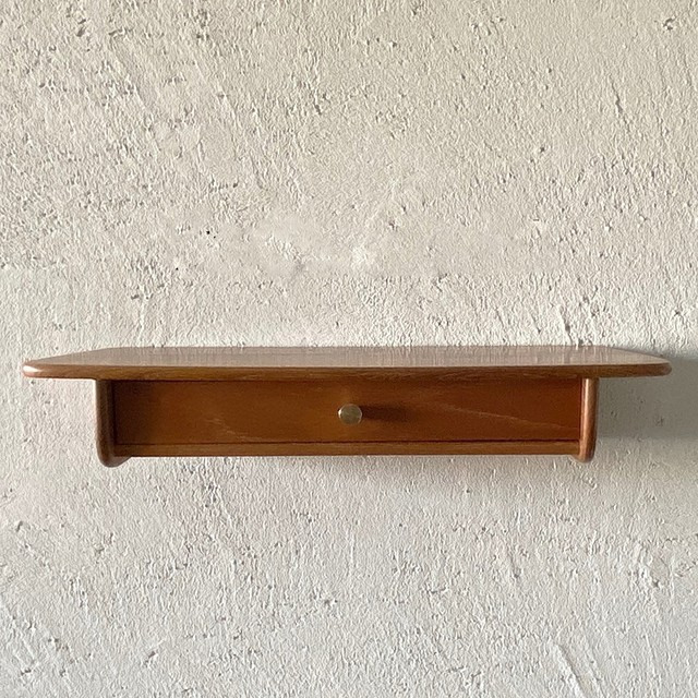 Wall shelf with drawer / WS013