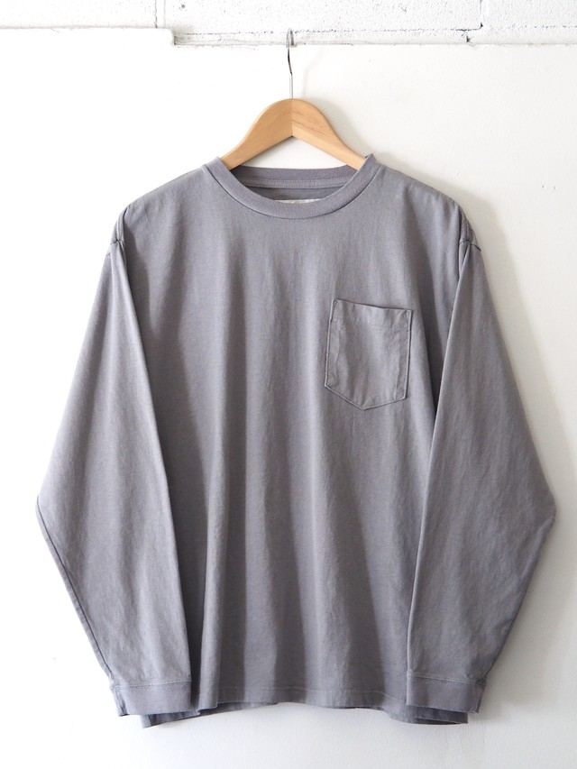 N.O.UN L/S T-Shirt Gray,Navy,White