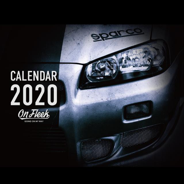 【今だけ次回使える500円クーポン付き】OnFleekカレンダー2020