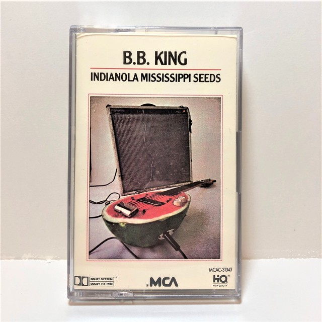[中古カセット]  B.B. King ‎– Indianola Mississippi Seeds