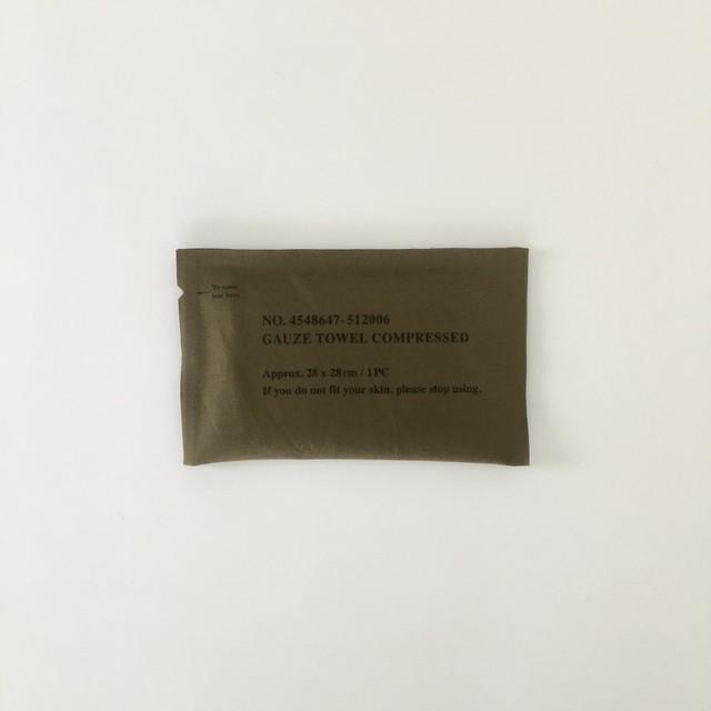 緊急用ガーゼタオル|Emergency Provisions Gauze Towel(PUEBCO)