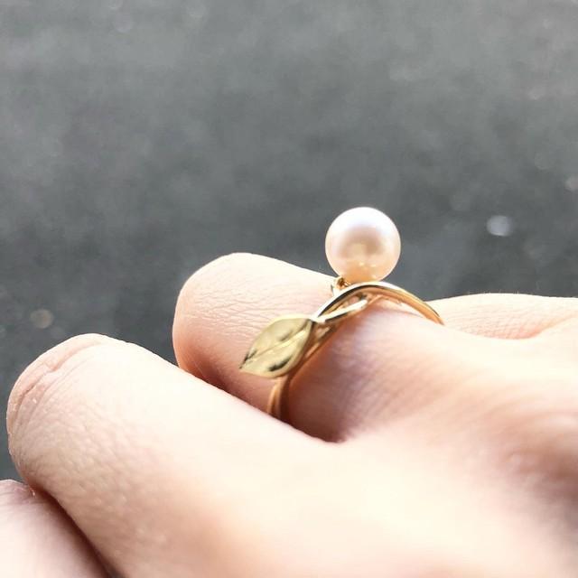 【jewelberry】ジュエルベリー_リング アコヤパール7mm