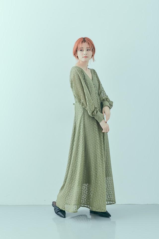 SAORI TANABE コラボ Vintage lace op