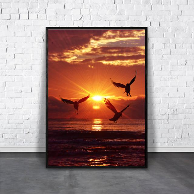 Sunrise bird / 【アートポスター専門店 Aroma of Paris】[AP-000212]