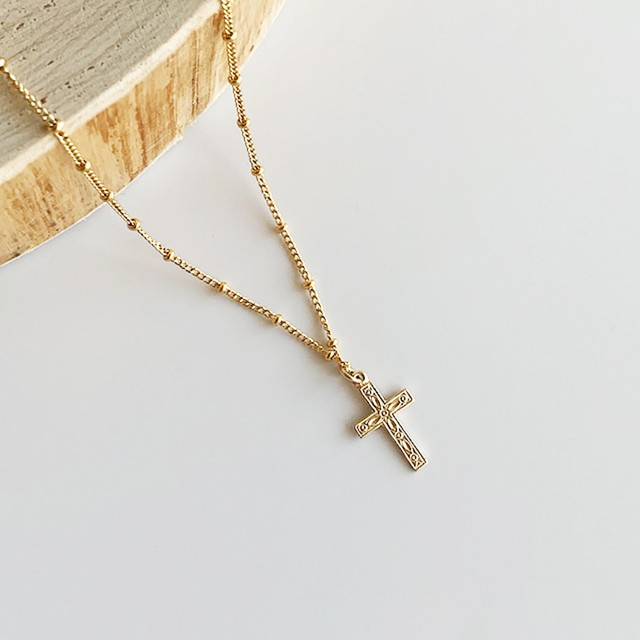 Cross necklace     OBH-032