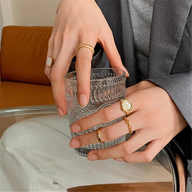 European style design Ring 5SET