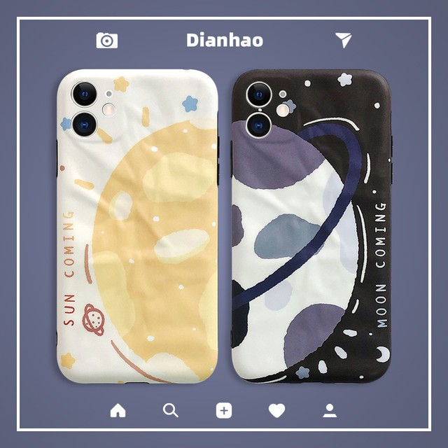 【DIANHAOシリーズ】★携帯ケース★ カップル iPhone 12 12mini 12Pro 12ProMax 11 11Pro 11ProMax XR X/XS XS Max 7/8 plus