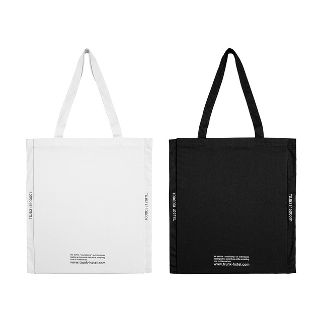 TRUNK Pocketable Tote Bag -Socializing