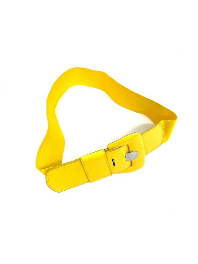 square buckle belt / 3SSGD06-18