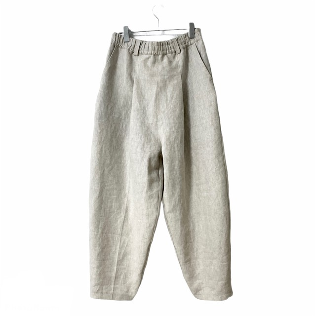 Tapered-Pants  (ivory/linen)