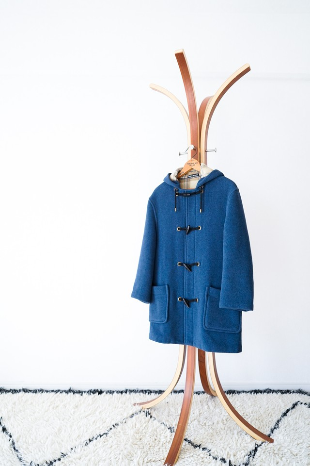 "【1980s】""Gloverall"" Wool Duffle Coat / v442"