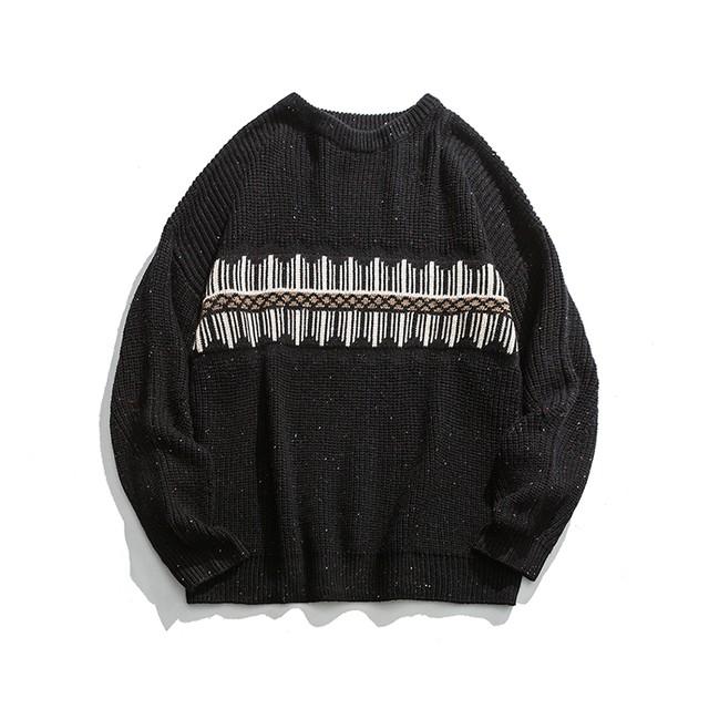 【MEN'S】クルーネック セーター【3colors】