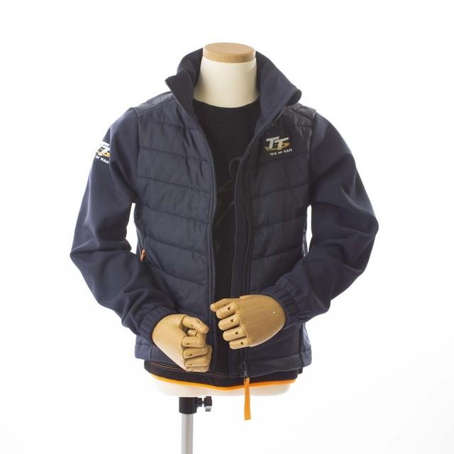 Kids TT Sports Jacket Navy