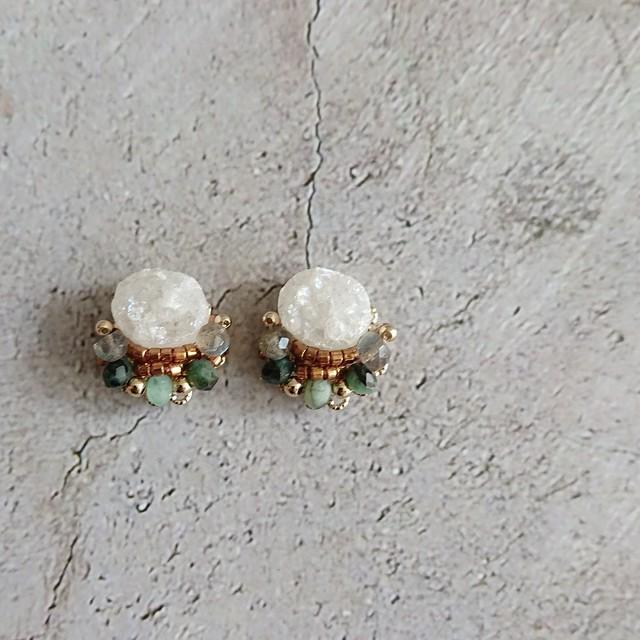 5月 Birthstone Ear jewelry