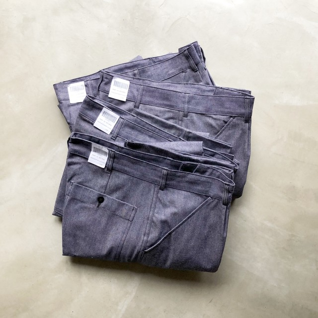 DEAD STOCK  / FRENCH ARMY DENIM