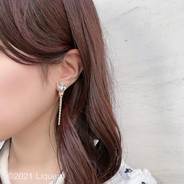 YUKI × Liquem / クラウンスティック・ピアス