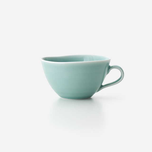 青磁 スープカップ