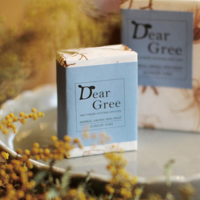 《Dear Gree》ハーバルアロマドッグソープ Sサイズ(60g)