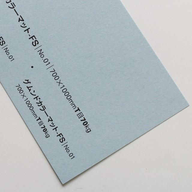 グムンドカラーマット-FS (No,01) 70kg 700x1000mm
