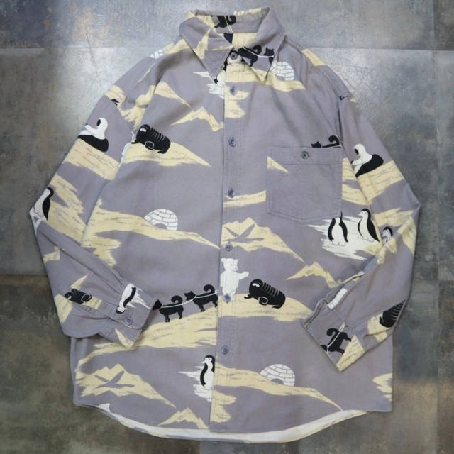 animaru design wool shirt
