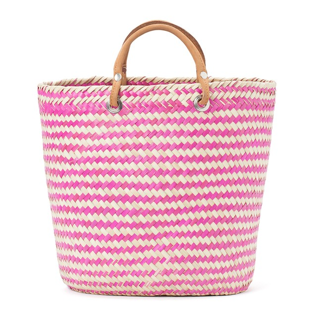 PALMA BODER BAG ‐ Natural x Pink