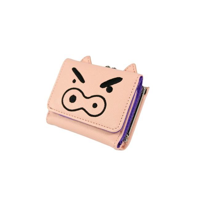クレヨンしんちゃん コンパクト財布(ぶりぶりざえもん) 【ニジゲンノモリ限定商品】