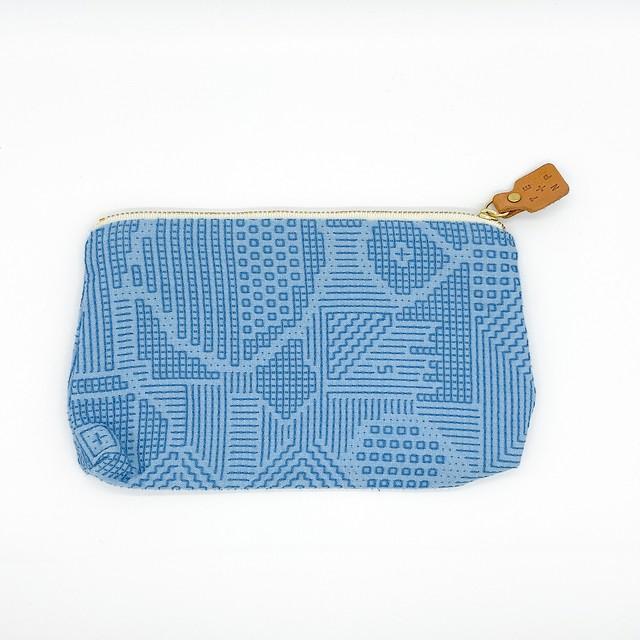 十布 福島の刺子織|ポーチ