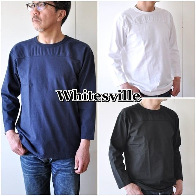 東洋エンタープライズ TOYO WHITESVILLE  ホワイツビル  9分袖T フットボールTシャツ