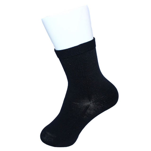 【Inner-Fact】 Round Socks Middle(Black)
