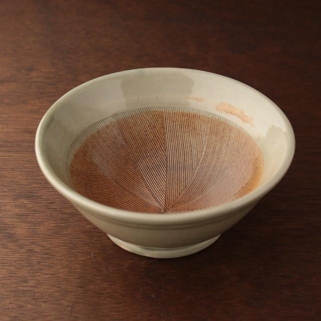 5号 土灰釉(ライン入り)すり鉢職人/杉江匡