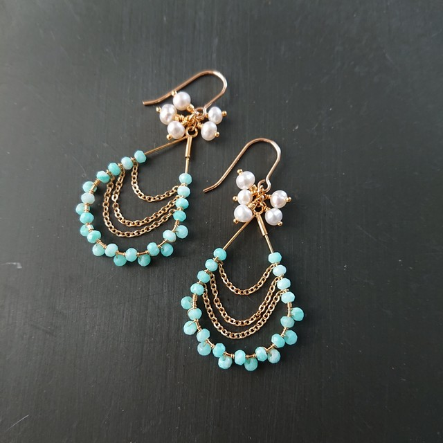 chandelier pierce / earring 008